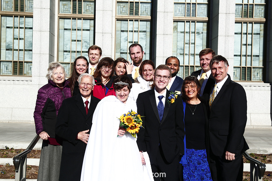JSW 1711 Anderson Wedding 185<br /> <br /> JSW 1711 Anderson Wedding<br /> <br /> Derek and Becky Anderson - Draper Temple<br /> <br /> December 28, 2017<br /> <br /> Jaren Wilkey/BYU<br /> <br /> &copy; BYU PHOTO 2017<br /> All Rights Reserved<br /> photo@byu.edu  (801)422-7322