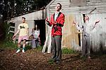 May 29, 2011. Durham, NC..Promo photos for  Xiu Xiu