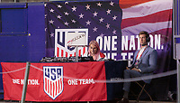 Carson, CA - Sunday January 28, 2018: U.S. Soccer during an international friendly between the men's national teams of the United States (USA) and Bosnia and Herzegovina (BIH) at the StubHub Center.