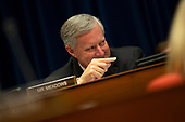 United States Representative Mark Meadows (Republican of North Carolina) speaks during the Committee on Oversight and Reform hearing on Capitol Hill in Washington D.C., U.S. to markup a resolution recommending that the House of Representatives find the Attorney General and the Secretary of Commerce in contempt of Congress on June 12, 2019.<br /> <br /> Credit: Stefani Reynolds / CNP