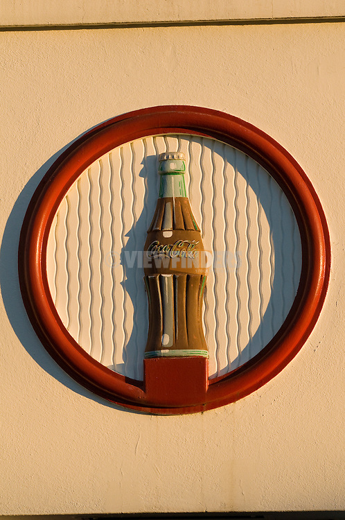 Coca-Cola Bottle Logo, Portland, Oregon
