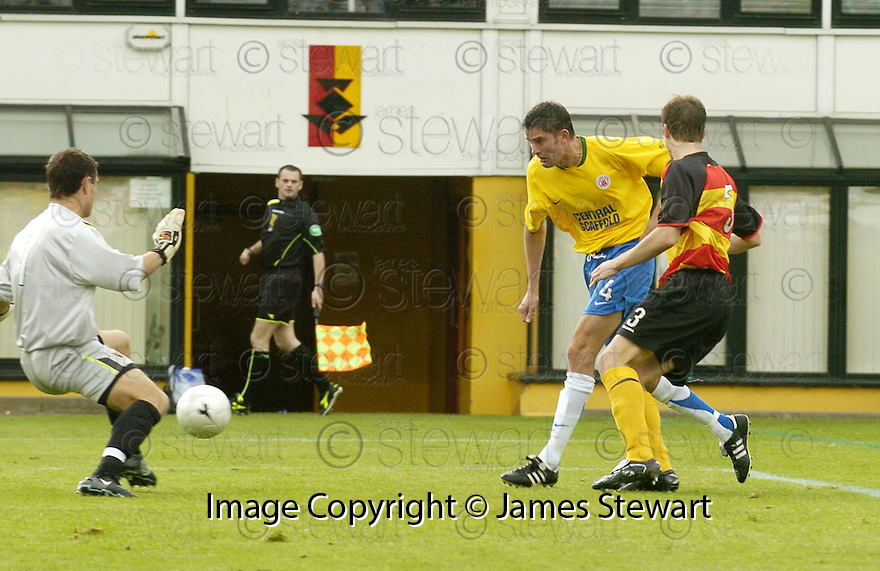 01/09/2007       Copyright Pic: James Stewart.File Name : sct_jspa06_partick_v_hamilton.STUART TAYLOR SCORES SCORES HAMILTON'S THIRD GOAL....James Stewart Photo Agency 19 Carronlea Drive, Falkirk. FK2 8DN      Vat Reg No. 607 6932 25.Office     : +44 (0)1324 570906     .Mobile   : +44 (0)7721 416997.Fax         : +44 (0)1324 570906.E-mail  :  jim@jspa.co.uk.If you require further information then contact Jim Stewart on any of the numbers above........