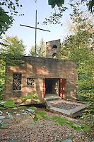 France, Meuse (55), Beaulieu-en-Argonne, chapelle Saint-Rouin // France, Meuse, Beaulieu-en-Argonne, chapel Saint-Rouin