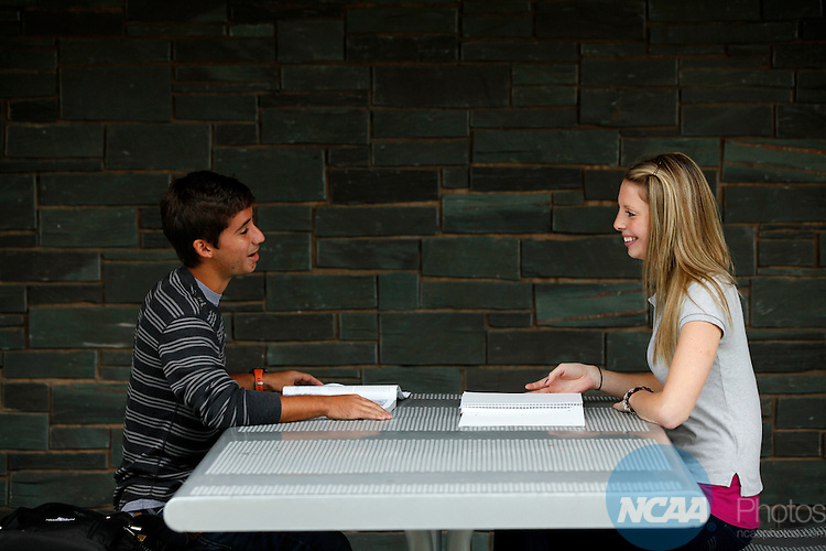 20 SEPT 2011:  Campus photography shot at Norwich University for NCAA Champion Magazine.  Jamie Schwaberow/NCAA Photos