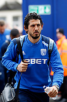 Ahmed Hegazi of West Brom seen during the EPL - Premier League match between Crystal Palace and West Bromwich Albion at Selhurst Park, London, England on 13 May 2018. Photo by Carlton Myrie / PRiME Media Images.