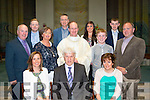 Silver family<br /> ----------------<br /> Fr Padraig Walsh of St Brendans church,Tralee posed with his family ahead of mass to celebrate his 25th anniversary of his ordination last Saturday evening in the church (front) L-R Canice Walsh-O'Riordan with Patrick&amp;Elma Walsh (2nd row) L-R Martin,Pamela,Fr Padraig&amp;Ian Walsh with Mehall O'Riordan (back) L-R Gavin,Declan,Amy&amp;Steven Walsh.