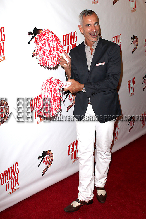 Jerry Mitchell.attending the Broadway Opening Night Performance of 'Bring it On The Musical' at the St. James Theatre in New York City on 8/1/2012 © Walter McBride / WM Photography