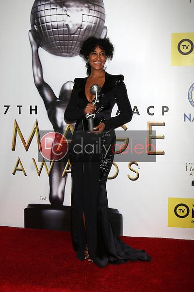 Tracee Ellis Ross<br /> at the 47TH NAACP Image Awards Press Room, Pasadena Civic Auditorium, Pasadena, CA 02-05-16<br /> David Edwards/DailyCeleb.com 818-249-4998