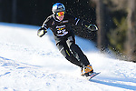 14/12/2013, Carezza - FIS Snowboard World Cup <br /> Kaspar Fluetsch competes during the Parallel Slalom event of the FIS Snowboard World Cup  on 14/12/2013 in Carezza, Italy.<br /> <br /> &copy; Pierre Teyssot<br /> <br /> Kaspar Fluetsch