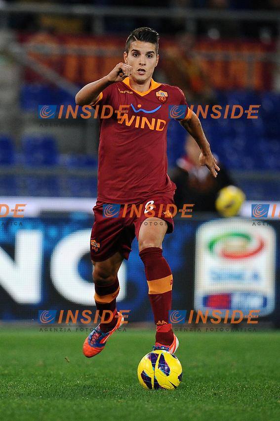 Erik Lamela Roma.19/11/2012 Roma.Stadio Olimpico.Football Calcio 2012 / 2013 .Campionato di Calcio Serie A.Roma vs Torino 2-0.Foto Insidefoto / Antonietta Baldassarre.