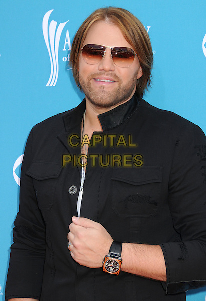 JAMES OTTO.45th Annual Academy Of Country Music Awards held at the MGM Grand Garden Arena, Las Vegas, NV, USA..April 18th, 2010.half length black shirt watch sunglasses shades stubble facial hair .CAP/ADM/BP.©Byron Purvis/AdMedia/Capital Pictures.
