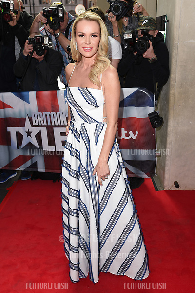 Amanda Holden arriving at the launch of Britain's Got Talent 2017, Mayfair Hotel, London.   <br /> 12 April  2017<br /> Picture: Steve Vas/Featureflash/SilverHub 0208 004 5359 sales@silverhubmedia.com