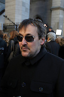 Guy A Lepage attend the the funeral of Rene Angelil, , Friday Jan. 22, 2016 at Notre-Dame Basilica in Montreal, Canada.<br /> <br /> <br /> <br /> <br /> <br /> <br /> <br /> <br /> <br /> <br /> <br /> <br /> <br /> .