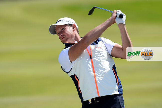 Bjorn Akesson of Sweden during Round 4 of the Nordea Masters, Bro Hof Slott Golf Club, Stockholm, Sweden. 05/06/2016<br /> Picture: Richard Martin-Roberts / Golffile<br /> <br /> All photos usage must carry mandatory copyright credit (&copy; Golffile | Richard Martin- Roberts)