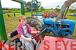 Tadhg Kerins from Blennerville pictured at the Camp vintage fair on Sunday..