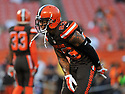 CLEVELAND, OH - SEPTEMBER 1, 2016: Cornerback Joe Haden #23 of the Cleveland Browns warms up on the field prior to a game on September 1, 2016 against the Chicago Bears at FirstEnergy Stadium in Cleveland, Ohio. Chicago won 21-7. (Photo by: 2016 Nick Cammett/Diamond Images)  *** Local Caption *** Joe Haden