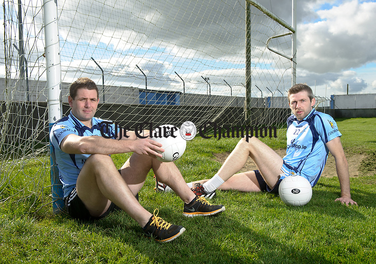 Cooraclare's Andrew O Neill and Michael Kelly. Photograph by John Kelly.