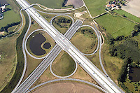 Deutschland, Schleswig- Holstein, Luebeck, Autobahnkreuz, A1, A20, Ostseeautobahn