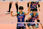 Haruyo Shimamura of Japan (L) in action during the match between China and Japan on May 30, 2018 in Hong Kong, Hong Kong. (Photo by Power Sport Images/Getty Images)
