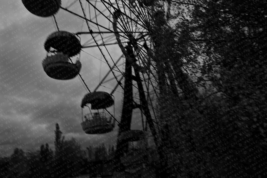 Documenting the echos of Chernobyl Tragedy, Nature is reclaiming an amusement park in Prypiat. This area serves as a long term reminder of the mass destruction caused by the nuclear explosion in Chernobyl, Ukraine on April 25-26, 1986.