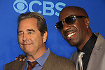 """Beau Bridges & JB Smoove in """"The Millers"""" at the CBS Upfront on May 15, 2013 at Lincoln Center, New York City, New York. (Photo by Sue Coflin/Max Photos)"""