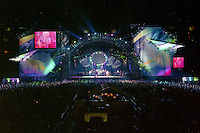 "The Grateful Dead Live at Giants Stadium 03 August 1994. Photograph taken during the song ""Crazy Fingers"""