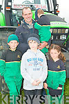 HARVEST: Having a great time at the Kerry Harvest Fair at Tralee Mart on Sunday front l-r: Padraig O'Connor, Jason O'Brien and Mary Kate O'Connor Back l-r Pat and Tommy O'Connor