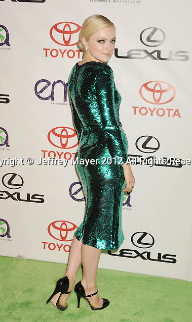 BURBANK, CA - SEPTEMBER 29: Francesca Eastwood arrives at the 2012 Environmental Media Awards at Warner Bros. Studios on September 29, 2012 in Burbank, California.