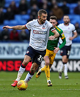Bolton Wanderers' Gary O'Neil breaks <br /> <br /> Photographer Andrew Kearns/CameraSport<br /> <br /> The EFL Sky Bet Championship - Bolton Wanderers v Preston North End - Saturday 9th February 2019 - University of Bolton Stadium - Bolton<br /> <br /> World Copyright &copy; 2019 CameraSport. All rights reserved. 43 Linden Ave. Countesthorpe. Leicester. England. LE8 5PG - Tel: +44 (0) 116 277 4147 - admin@camerasport.com - www.camerasport.com