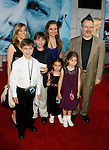 "HOLLYWOOD, CA. - September 24: Director Jonathan Mostow and family arrive at the Los Angeles premiere of ""Surrogates"" at the El Capitan Theatre on September 24, 2009 in Hollywood, California."