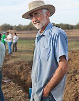 Vic Claassen (UC Davis) at Introduction to Grassland Soils workshop- California Native Grassland Association