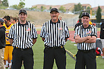 San Diego, CA 05/21/11 - The USL referees before the start of the 2011 CIF San Diego Section Boys Division 1 Championship game.