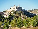 The Rocca Albornoziana fortress, Spoleto, Italy.<br /> <br /> 14th century