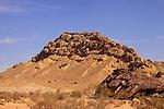 Mount Karbolet Haririm in Ramon Crater