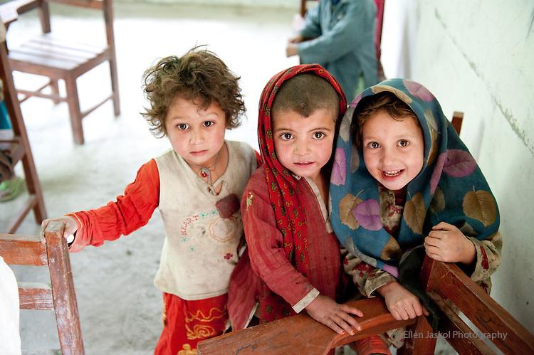 Three schools May 20, 2011.  Al Mehdi school in Hemasil school, in the Shigar valley outside of Skardu, Pakistan.  Photo by Ellen Jaskol