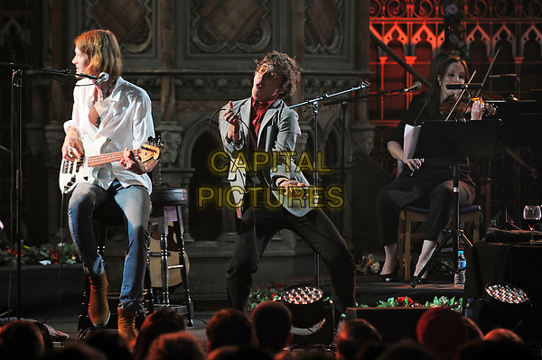 LONDON, ENGLAND - JULY 10: Matt Shultz of 'Cage The Elephant' performing at Union Chapel on July 10, 2017 in London, England.<br /> CAP/MAR<br /> &copy;MAR/Capital Pictures