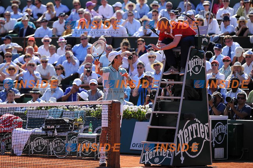 Novak Djokovic (SRB) <br /> Parigi 7/6/2013<br /> Tennis Roland Garros <br /> Foto Panoramic / Insidefoto<br /> ITALY ONLY