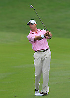 Jonathon Byrd (USA) on the 10th during Round 3 of the CIMB Classic in the Kuala Lumpur Golf & Country Club on Saturday 1st November 2014.<br /> Picture:  Thos Caffrey / www.golffile.ie