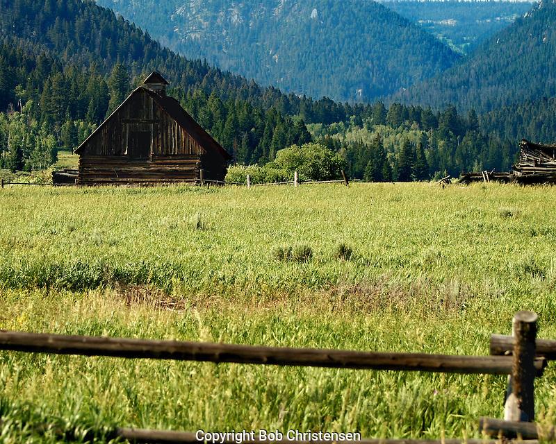 Old Buildings in Montana