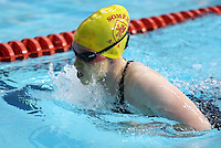 PICTURE BY VAUGHN RIDLEY/SWPIX.COM - Swimming - ASA National County Team Championships 2012 - Ponds Forge, Sheffield, England - 21/10/12 - Kayleigh Parker competes in the Girls 12/13 yrs 100m Breaststroke.