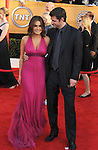 LOS ANGELES, CA. - January 23: Mariska Hargitay and Peter Hermann  arrive at the 16th Annual Screen Actors Guild Awards held at The Shrine Auditorium on January 23, 2010 in Los Angeles, California.