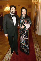 Yusif Ehjvazov, Anna Netrebko<br /> Presentation BraVo International Music Awards at the Bolshoi Theatre on March 11, 2018 in Moscow, Russia.<br /> CAP/PER<br /> &copy;PER/CapitalPictures