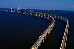 Aerial view of Chesapeake Bay Bridge