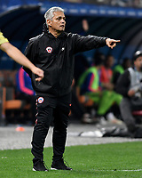 SAO PAULO – BRASIL, 28-06-2019: Reinaldo Rueda técnico de Chile reacciona durante partido por cuartos de final de la Copa América Brasil 2019 entre Colombia y Chile jugado en el Arena Corinthians de Sao Paulo, Brasil. / Reinaldo Rueda coach of Chilereacts during the Copa America Brazil 2019 quarter-finals match between Colombia and Chile played at Arena Corinthians in Sao Paulo, Brazil. Photos: VizzorImage / Julian Medina / Cont /