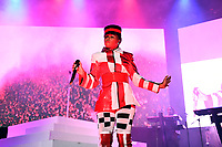 LONDON, ENGLAND - JULY 2: Janelle Monàe performing at SSE Arena on July 2, 2019 in London, England.<br /> CAP/MAR<br /> ©MAR/Capital Pictures