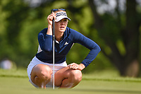 Jessica Korda (USA) looks over her putt on 11 during the round 1 of the KPMG Women's PGA Championship, Hazeltine National, Chaska, Minnesota, USA. 6/20/2019.<br /> Picture: Golffile | Ken Murray<br /> <br /> <br /> All photo usage must carry mandatory copyright credit (© Golffile | Ken Murray)