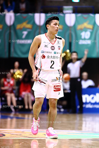 Yuki Togashi (Jets), <br /> APRIL 17, 2016 - Basketball : <br /> National Basketball League &quot;NBL&quot; 2015-2016 <br /> between TOYOTA ALVARK TOKYO 87-78  Chiba Jets <br /> at 2nd Yoyogi Gymnasium, Tokyo, Japan. <br /> (Photo by AFLO SPORT)