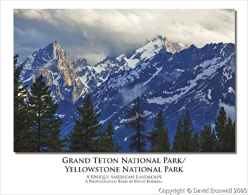 A photographic tavelogue of Grand Teton and Yellowstone National Parks, taken in the summer of 2009.  This E-book is in PDF format and is readable with Adobe Reader 6.0 or later (available from adobe.com for free).