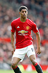 Marcus Rashford of Manchester United during the English Premier League match at Old Trafford Stadium, Manchester. Picture date: April 16th 2017. Pic credit should read: Simon Bellis/Sportimage