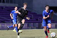 Orlando, Florida - Wednesday January 17, 2018: Wyatt Omsberg and Oliver Shannon. Match Day 3 of the 2018 adidas MLS Player Combine was held Orlando City Stadium.